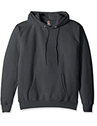 Hanes Mens Pullover EcoSmart Fleece Hooded Sweatshirt Hoody