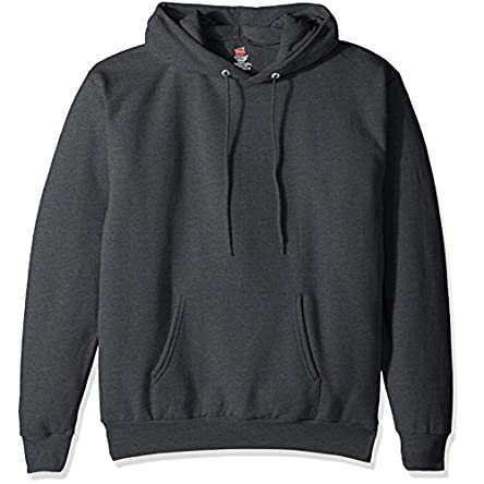 Hanes Men's Pullover Eco-Smart Fleece Hooded...