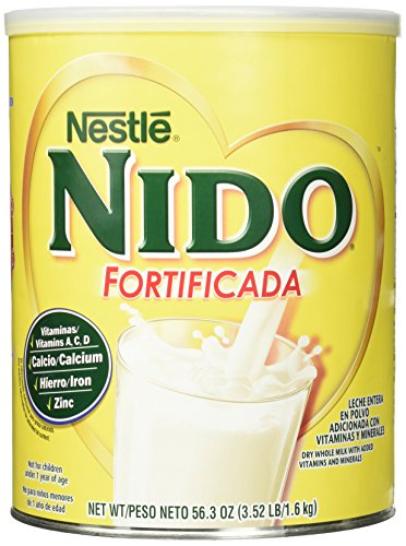Price comparison product image NESTLE NIDO Fortificada Dry Milk 56.3 oz. Canister