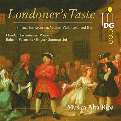 Baroque Recorder Sonatas - Baroque Recorder Sonatas Londoner's Taste by Musica Alta Ripa