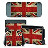 Gam3Gear Vinyl Decal Protective Skin Cover Sticker for Nintendo Switch Console & Controller – UK Flag Review