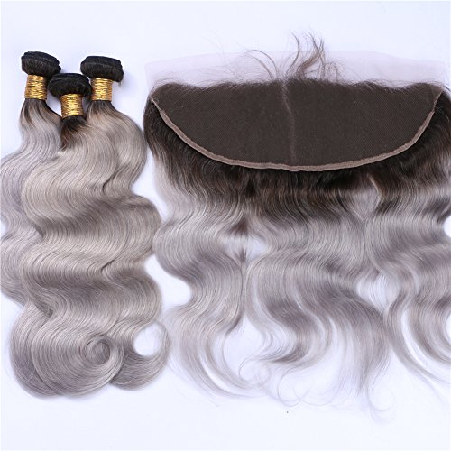 Cloud-Hair-1B-Grey-Virgin-Hair-Weaves-With-Ear-To-Ear-Frontal-Ombre-Color-Body-Wave-Hair-3Bundles-Extensions-And-Lace-Frontal-With-Baby-Hair