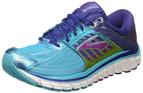 Brooks Compétition Scubablue Chaussures Glycerin Running Purplecactusflower Navyblue W Lila 14 Femme Turquoise Hellblau de YYaqrS