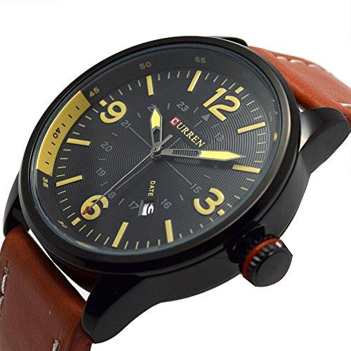 Mens Fashion Sports Wrist Watch Stylish Quartz Analog Watch Men's (Mens Fashion Dress Sport Watch)