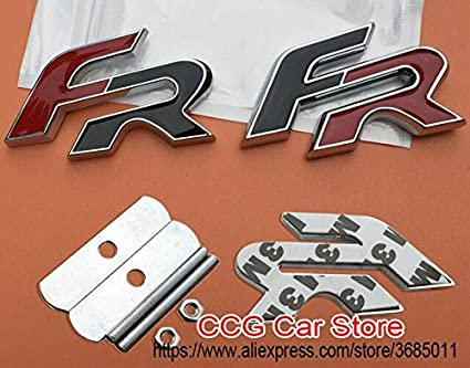 Emblema 3D de metal para parrilla frontal de coche, diseño ...