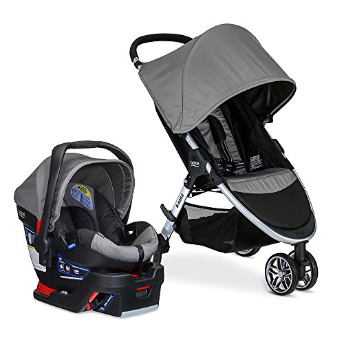 Find Cheap Britax 2017 B-Agile/B-Safe 35 Travel System, Steel