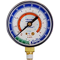 Yellow Jacket 49064 2-1/2 Gauge (degrees C), Blue Compound, bar/psi, R-134A/404A/407C