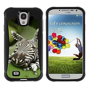 LASTONE PHONE CASE / Suave Silicona Caso Carcasa de Caucho Funda para Samsung Galaxy S4 I9500 / Baby Cute Art Sleeping Nature