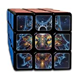 Wolf Constellation 3x3x3 Speed Rubik's Magic Cube Square Custom Puzzles Game Portable Toys-Anti Stress For Anti-anxiety Adults Kids