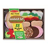 Melissa And Doug Felt Food - Sandwich Set