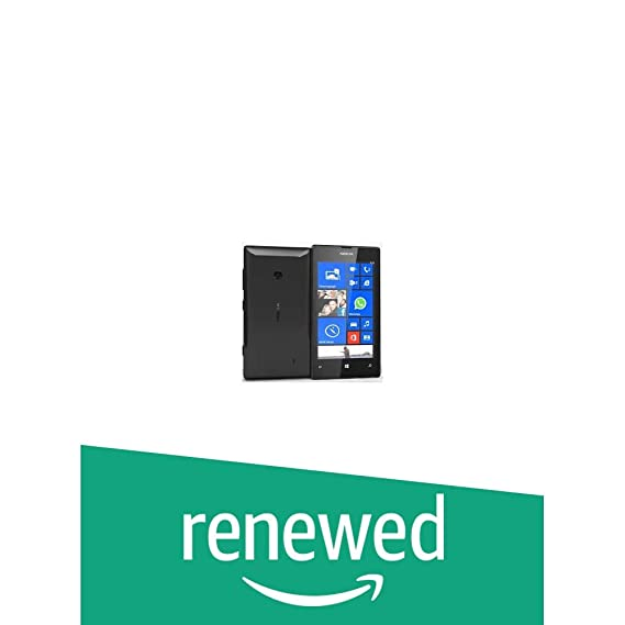 (Renewed) Nokia Lumia 520 Lumia 520 (Black)
