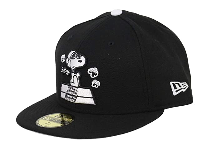 62e29cdd Charlie Brown Cap - New Era 59Fifty - Peanuts - Charlie Snoopy ...