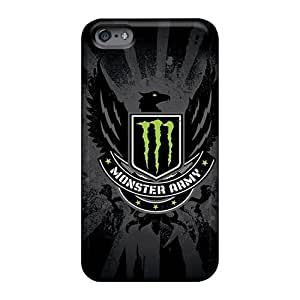 Protector Hard Phone Cases For Apple Iphone 6s Plus With Support Your Personal Customized High Resolution Monster Army Logo Series Luoxunmobile333