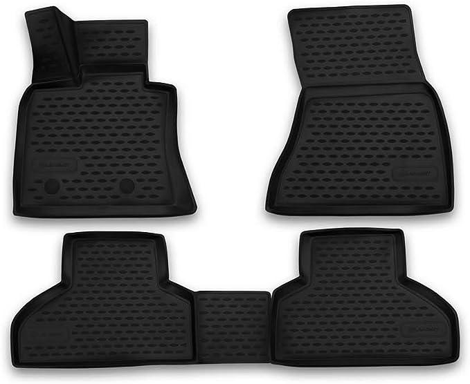 Element Exp Nlc 3d 05 38 210k Passgenaue Premium Antirutsch Gummi Fußmatten Bmw X5 F15 Jahr 13 17 Schwarz Passform Auto