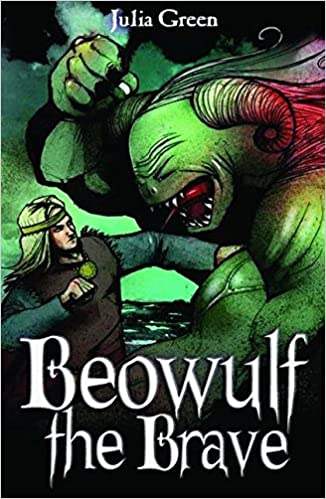 how does beowulf show bravery