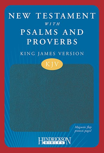 Download The New Testament with Psalms & Proverbs: King James Verision, Blue Flexisoft, Magnetic Flap PDF