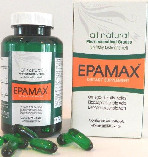 Epamax Sacha Inchi 60 caps molles de source végétale 900mg 100% des acides gras oméga 3