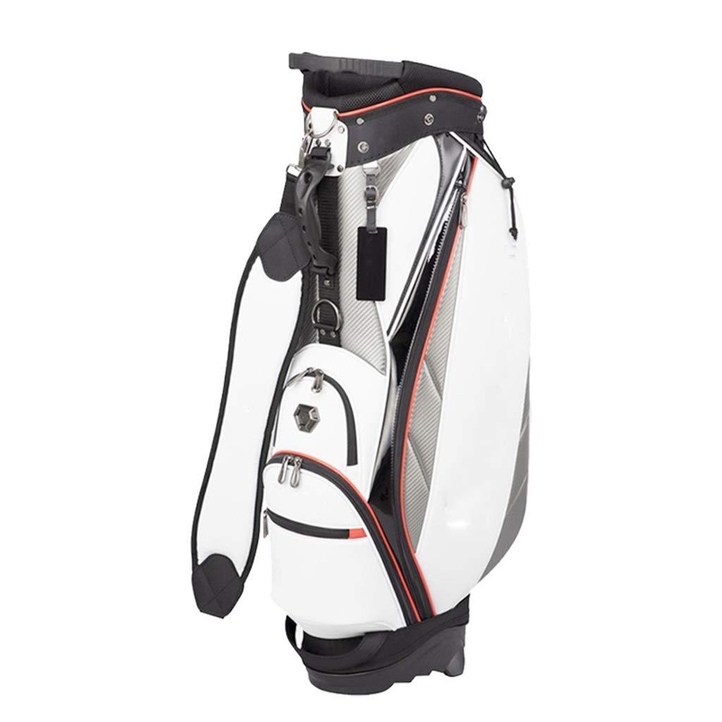WXYXG ゴルフバッグ、軽量および携帯用、防水および防滴、多色オプション (Color : 白い) 白い