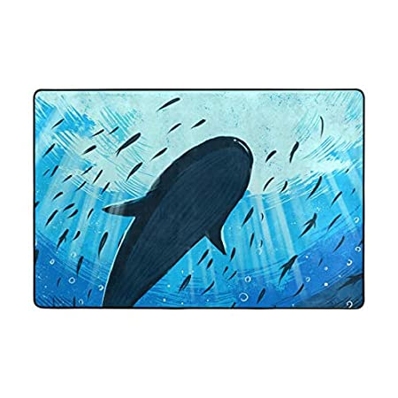 51RjyW8VJ7L._SS450_ Whale Rugs and Whale Area Rugs