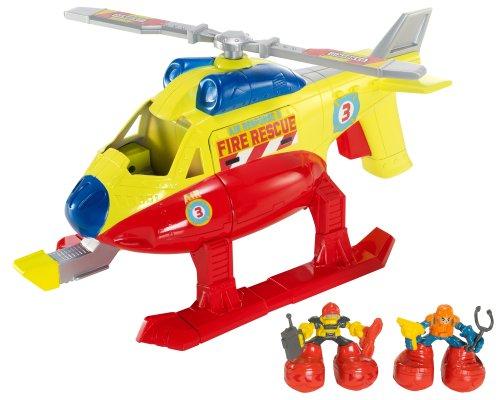 Matchbox Big Boots Fire and Rescue EMT Chopper