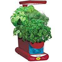 AeroGarden Sprout LED with Gourmet Herb Seed Pod Kit (Red)