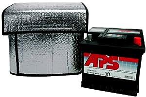 Cartend 96144 - Funda térmica para batería de coche (115 x 74 cm, apta para baterías de 32-45 Ah)