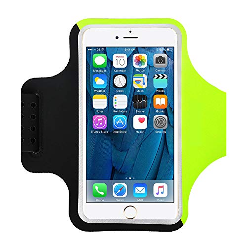 Yigou Running Armband voor iPhone 11/11 Pro/SE2/XS/XR/X/8/7/6 Plus, Sport Running Phone Armband Telefoon Houder voor…