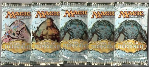 Magic the Gathering Cards - Scars of Mirrodin - Booster Packs (5 Pack Lot)