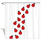 Decration colletion Decor,LADYBUG LINE Shower Curtain