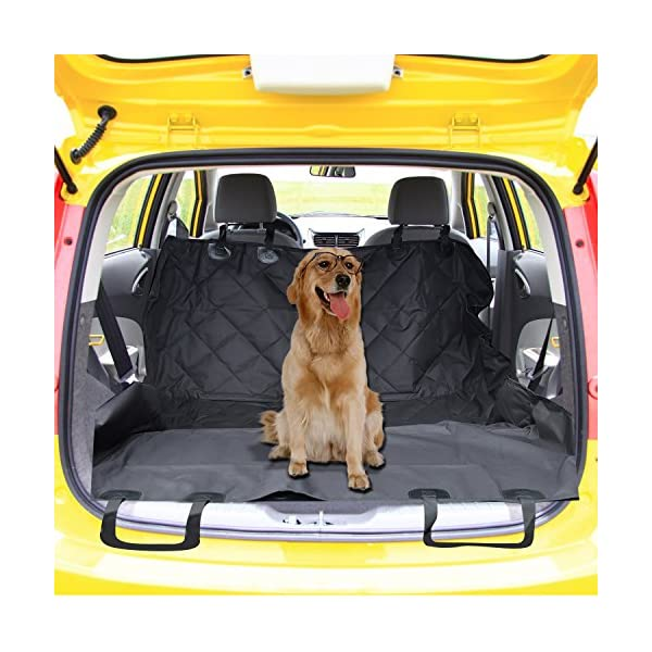 Pet Seat Covers For Car Vitalismo Dog Car Seat Hammock Convertible Waterproof Mat Padded Scratch Proof Machine Washable Nonslip For Cars Trucks And SUV Black