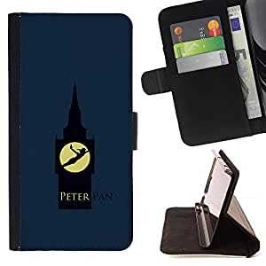 For LG G3 Peter Pan Leather Foilo Wallet Cover Case with Magnetic Closure