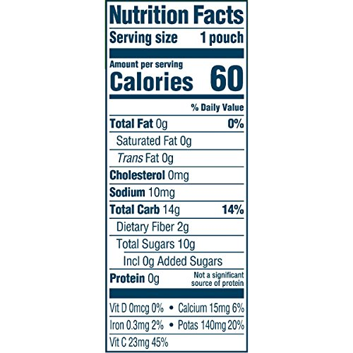 51Rk - Gerber Purees Organic 2nd Foods Baby Food Fruit & Veggie Variety Pack, 3.5 Ounces Each, 18 Count