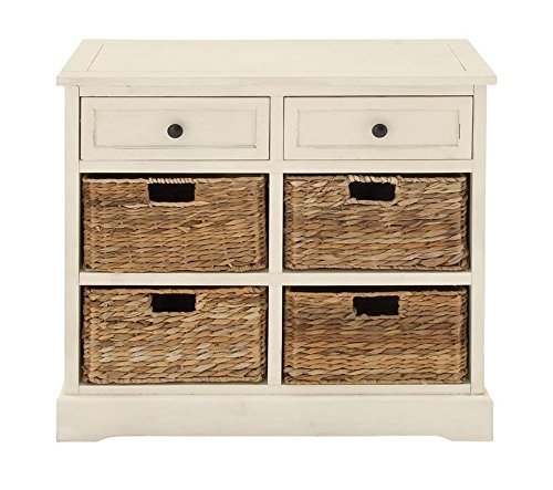 "Deco 79 96191 Wood Basket Dresser, 30"" x 28"""