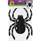 """14"""" Hanging Glitter Spider Halloween Decoration"""