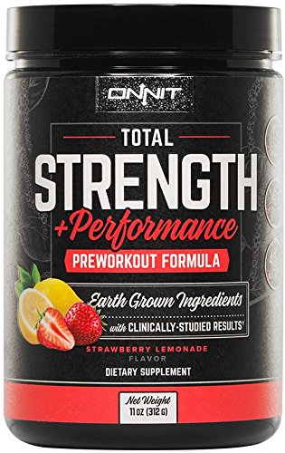Onnit Total Strength and Performance - Stimulant-Free Pre-Wo