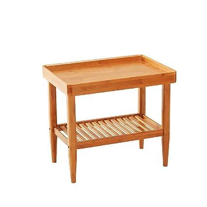 yonglianggy sofa side small corner several side table ikea modern simple bamboo living room home tea - Side Tables Ikea