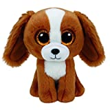 Chocozone 18cm Big Eye Cute Dog Soft Toy - Brown