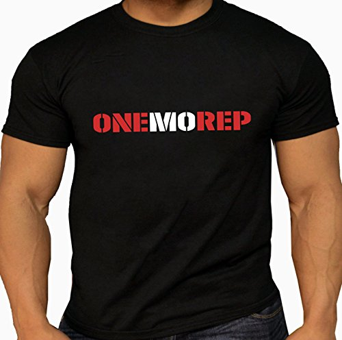 Used, Quality Men's 'One More Rep' T-Shirts. Weightlifting for sale  Delivered anywhere in USA
