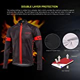 Lixada Men's Cycling Jersey Suit Winter Thermal