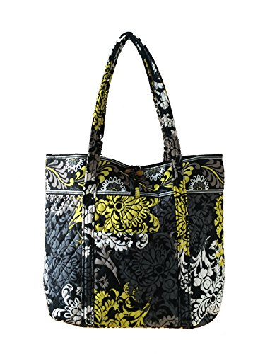 Baroque Bag (Vera Bradley Vera Tote Baroque with Solid Black Interior)