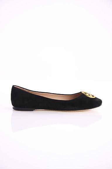 6f2326191 Tory Burch Chelsea Ballet Flat in Black Suede
