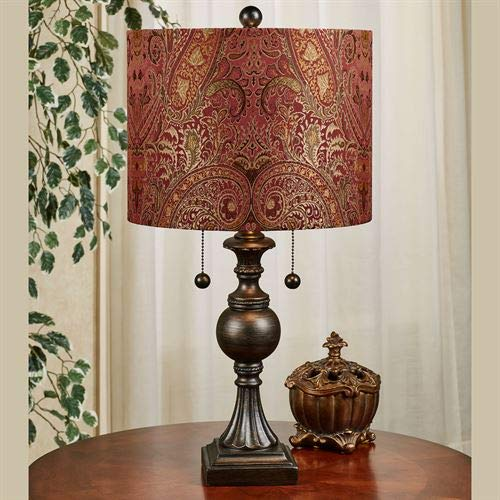 Maxwell Table Lamp Bronze One Size (Jimco Table Lamp)