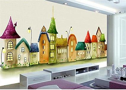 Lwcx 3d Room Wallpaper Custom Murals Photo Castle Comics Painting