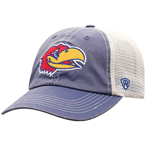 - Top of the World Kansas Jayhawks Men's Vintage Hat Icon, Royal, Adjustable