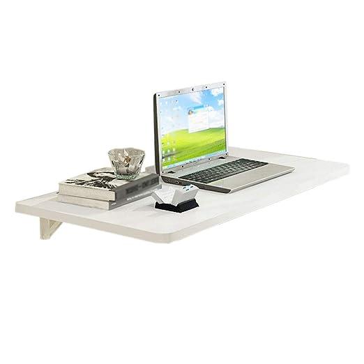 Mesa plegable plegable para colocar en la pared, mesa convertible ...