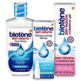 Biotène Dry Mouth Management Rinse, Spray, Gel Kit