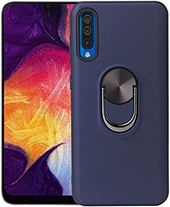 Case For Samsung Galaxy A50 360 Rotating Finger Holder Car Phone Case Ring Holder With Magnetic Anti Shock Protective Bumper Case Bumper Case For Galaxy A50 M Bekleidung