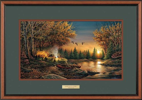 Evening Solitude II Framed Encore Print by Terry Redlin