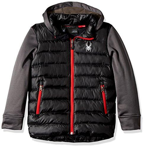 Mt Jacket Spyder Black Elbert Ragazzo polar Da v8wwSqxE