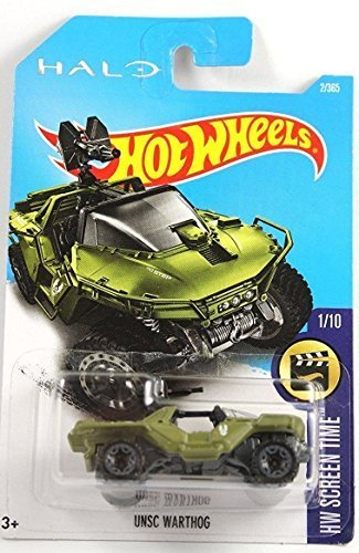 Halo 2 Warthog - Hot Wheels 2017 HW Screen Time Halo UNSC Warthog 2/365